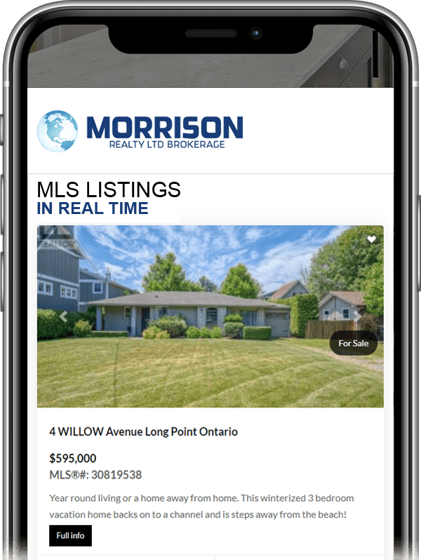 MLS LISTINGS in real time